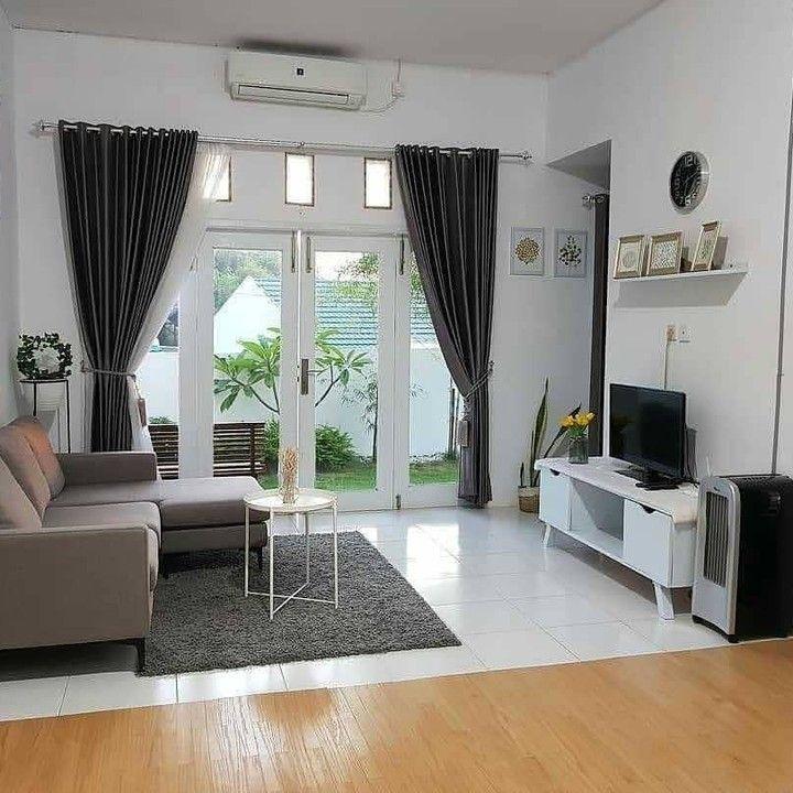 Nyaman Ya Ruang Keluarga Nya Pic By Uminafisah Desainrumah Rumahminimalis Rum Home Room Design Minimalist House Design Home Design Living Room