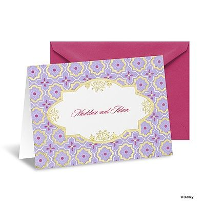 Exotic Romance Note Card and Envelope - Jasmine #thanks