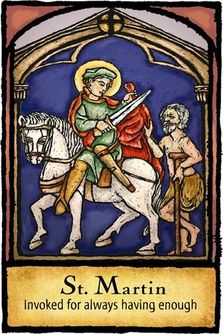 Patron Saint Of Luck And Fortune