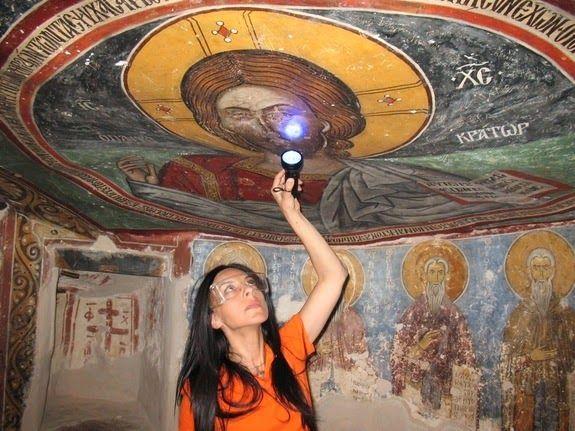Православка: Византијски монаси су користили азбест у зидном сл...