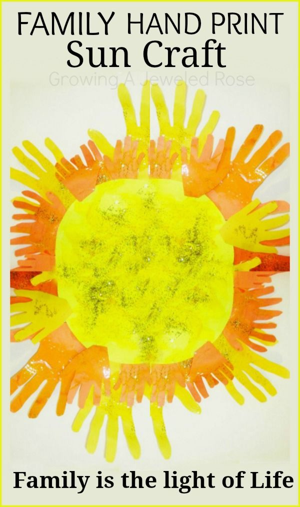 """Family is the Light of Life- Sun craft... I think this would be a cute classroom door. Maybe with a phrase something like """"Come in and see all our bright ideas!"""""""