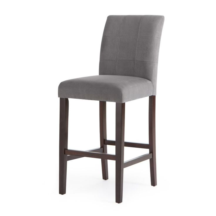 Palazzo 30 Inch Bar Stool - Set of 2 Grey - D1482.0067-MP
