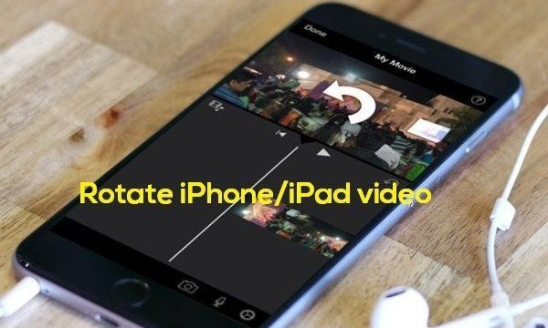 Rotate video iPhone | How to rotate a video on iPhone/ iPad/ iPodTouch