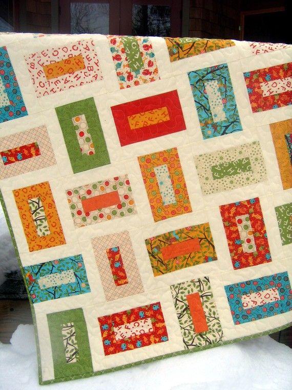 Moda S Lollipop Baby Or Toddler Quilt Pattern Also