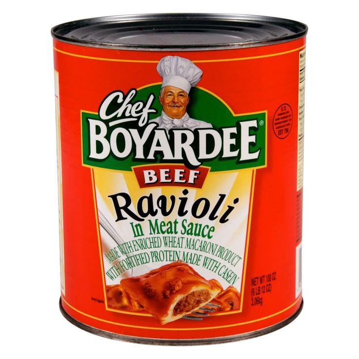 Chef Boyardee Mini Ravioli #10