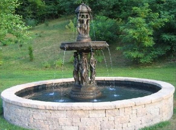 58 best images about garden fountains on pinterest for Garden fountains phoenix