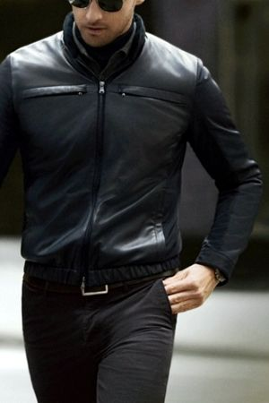 509 best leather jackets for men images on Pinterest | Menswear ...