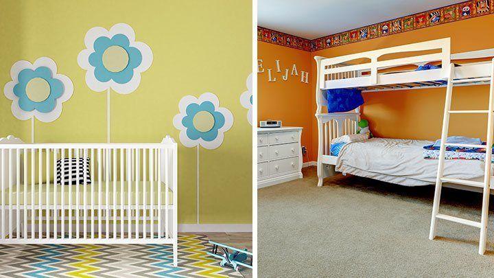 8 besten Kinderzimmer streichen Bilder auf Pinterest | Kinderzimmer ...