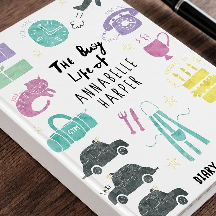 Personalised Diary 2015 - The Busy Life of... | Personalised Diaries from Getting Personal
