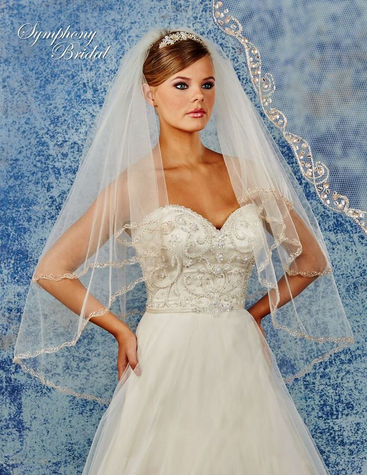 1000 Images About Romantic Wedding Veils On Pinterest