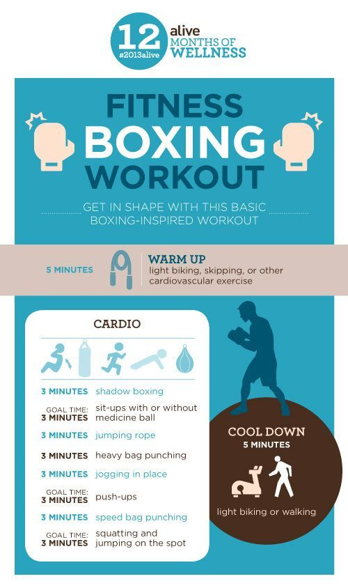 Pack a punch with this fitness boxing workout for the best of both cardio & strength-training