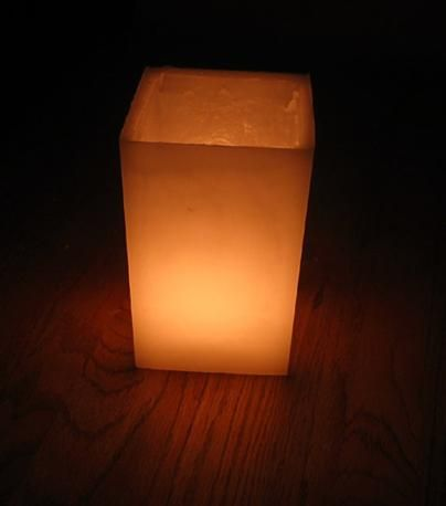 17 best images about luminaries on pinterest tissue for Homemade luminaries