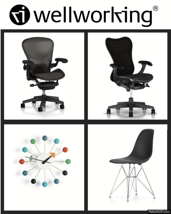 #‎BlackFriday‬ and ‪#‎CyberMonday‬ reminds us all of one thing – saving on our favourite products. Check out the ‪#‎Wellworking‬ sale on top brands on our website from Nov 27th to 30th. Don't miss out on this great opportunity to buy Herman Miller ‪#‎Aeron‬ and ‪#‎Mirra‬ 2 chairs, Vitra ‪#‎Nelson‬ Ball ‪#‎Clock‬ and Vitra Charles and Ray Eames DSX plastic side chairs.