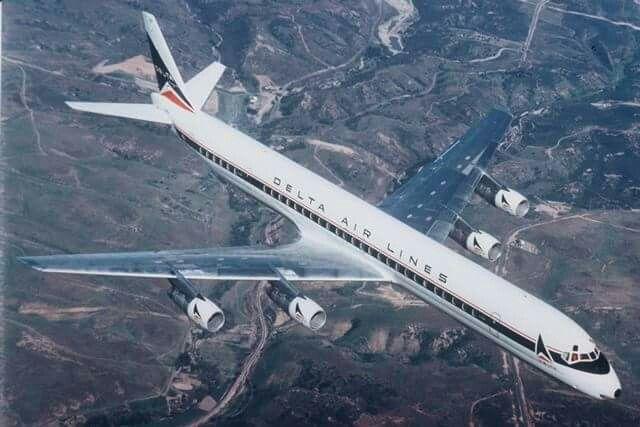 Delta Airlines McDonnell-Douglas DC-8-63