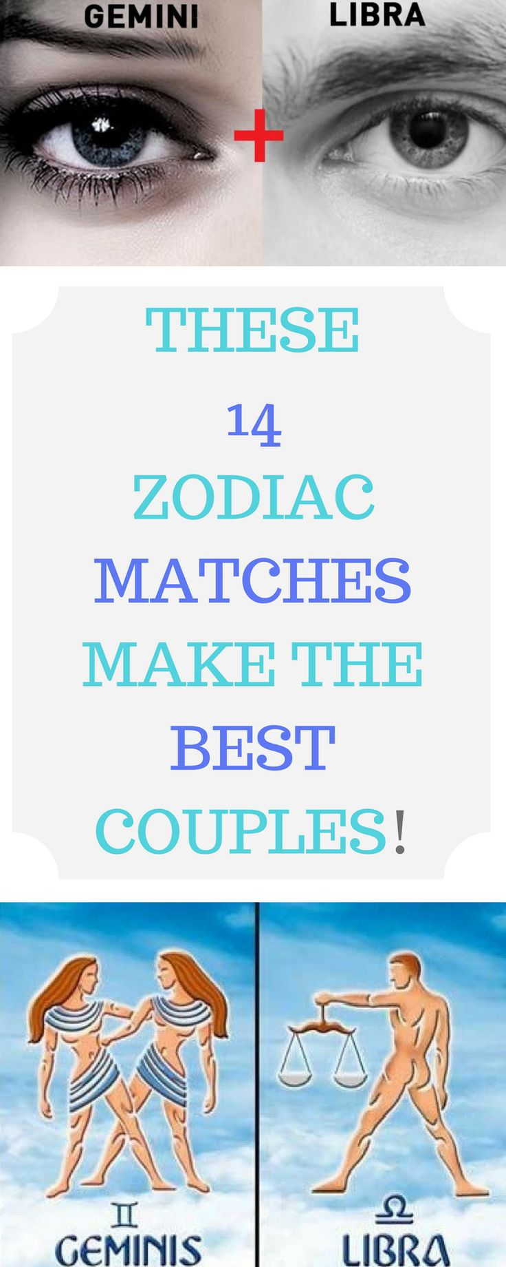 ..THESE 14 ZODIAC MATCHES MAKE THE BEST COUPLES!