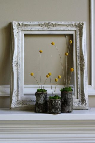 anderson + grant: Decorating with Empty Thrift Store Frames