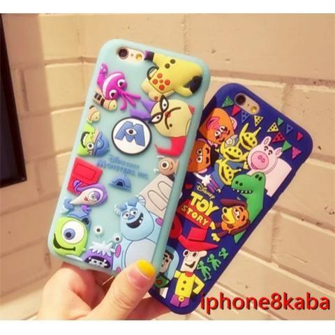ディズニー シリコン製 アイフォン7/7 プラス携帯ケース  キャラクターiphone6s/6s plusケース 可愛い 超薄型 お洒落