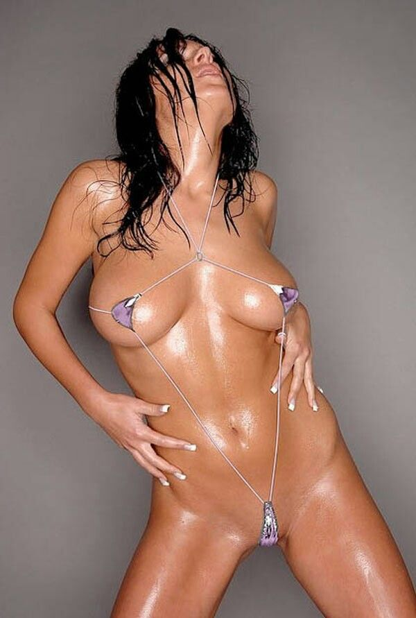 oily bikini