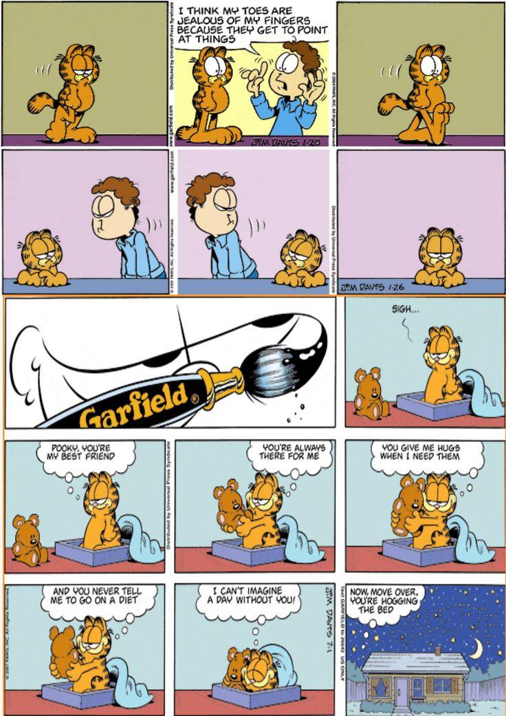 25 best ideas about garfield comic on pinterest - Funny garfield pics ...
