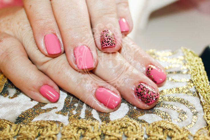 Nails with a special colour.love pink