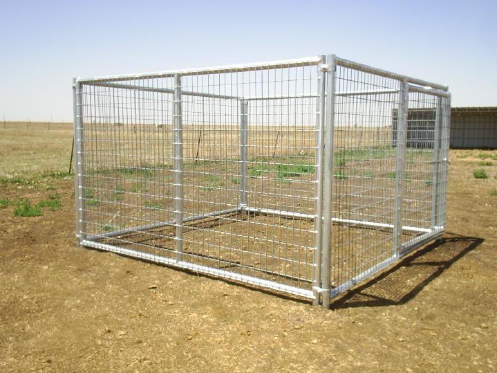 heavy duty dog kennels built by lonestar