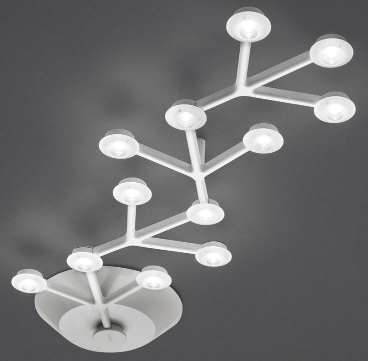 Plafonnier LED NET linéaire - L 66 cm