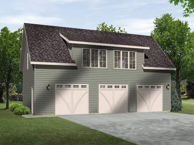 Large one bedroom apartment situated over three car garage 3 bedroom carriage house plans