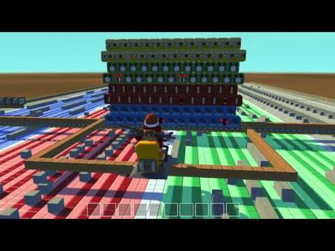 Someone(s) in Scrap Mechanic built a contraption that plays the theme song for Gravity Falls.....intriguing.