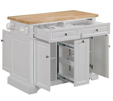 25 b sta kitchen carts id erna p pinterest rullbord ppna hyllor och lantk k - Stylishly modern kitchen islands additional work surface ...