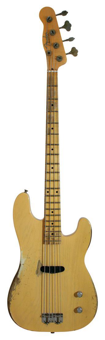 Fender Custom Shop Dusty Hill Signature Precision Bass Nocaster Blonde