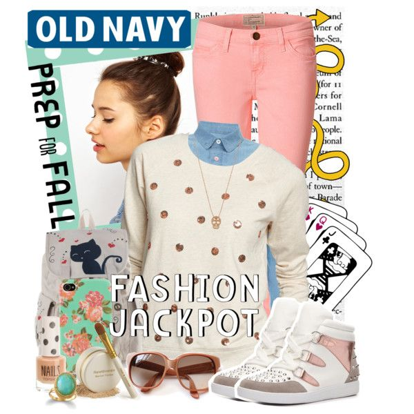 """""""Fall Sweaters by Old Navy"""" by shakeyd23 on Polyvore"""