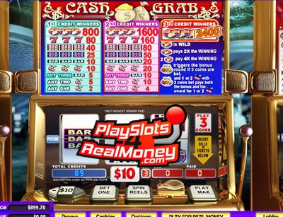 Trusted Cash Grab Mobile Slots Review At Miami Club Casino. Play Cash Grab Mobile Slots For Real Money At USA Friendly Miami Club Mobile Casino Online.