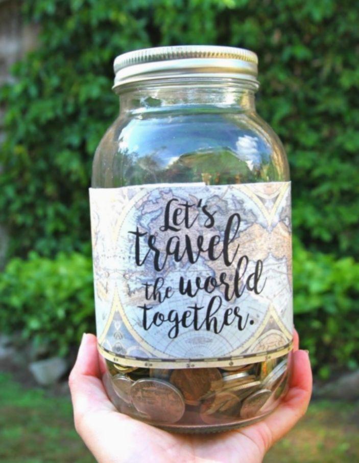 20 Diy Geschenke Freund Liebe Diy Gifts In A Jar Jar Diy Savings Jar
