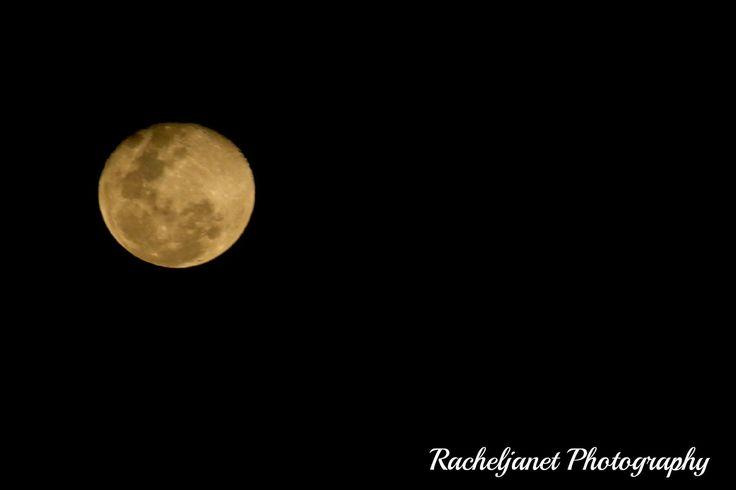 Beautiful bright orange moon. Nature photography  #beautiful #bright #orange #moon #nature #photography