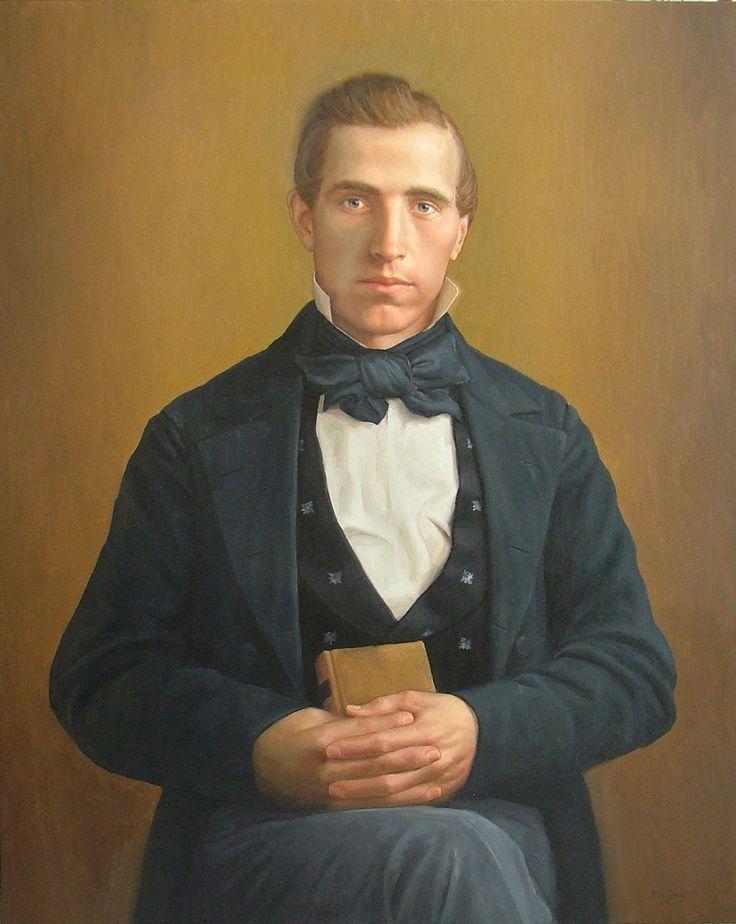 Ken Corbett's Painting of Joseph Smith | For the Home ... Joseph Smith