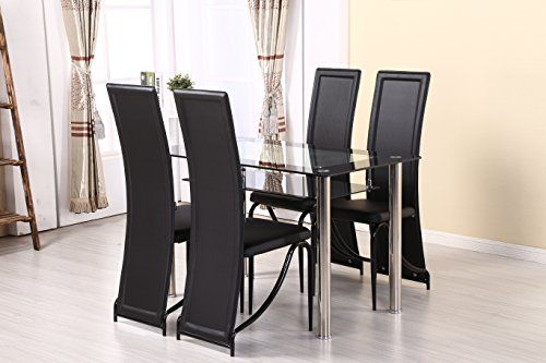 Glass Dining Table and 4 Chairs set, Table size 120 or 80... https://www.amazon.co.uk/dp/B01GLNVFXA/ref=cm_sw_r_pi_dp_x_fCp-xb4BTK96J