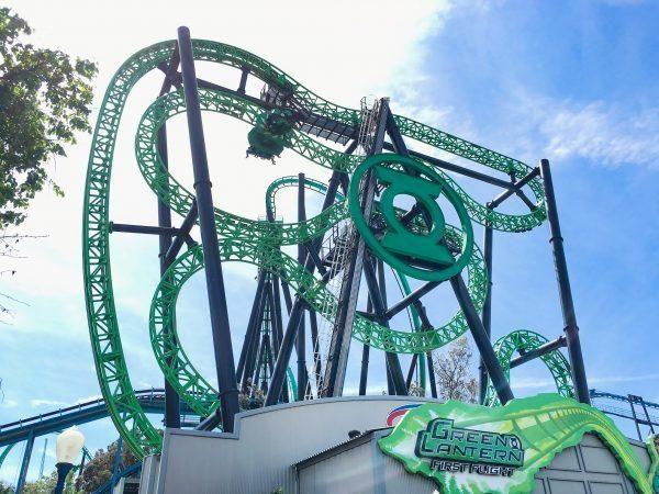 Six Flags Magic Mountain Los Angeles E Ticket 14 Discount Touristgurus Com Green Lantern First Flight Green Lantern Six Flags