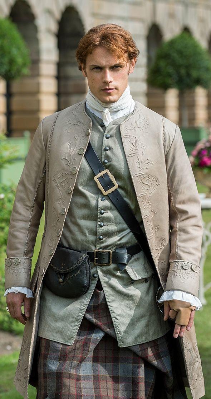 Jamie Fraser ~ Outlander Episode 205 Is this jacket trapunto ?                                                                                                                                                                                 Plus