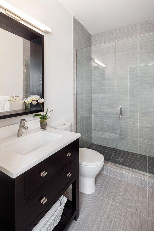 Super 15 Must See Contemporary Grey Bathrooms Pins Modern Bathroom Inspirational Interior Design Netriciaus