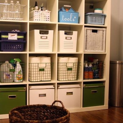 The art of organizing a small space.