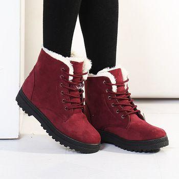 vrouwen laarzen botas femininas 2015 nieuwe aankomst vrouwen winter laarzen warm snow laarzen mode schoenen voor vrouwen platform enkellaars