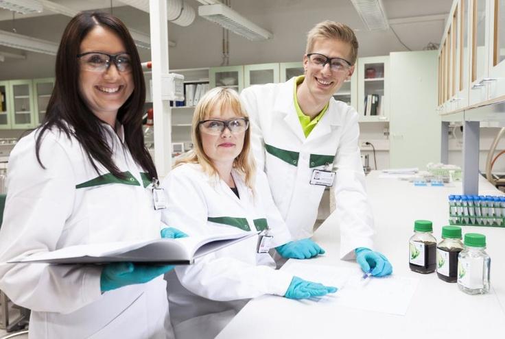 UPM Lappeenranta Biorefinery research and development personnel