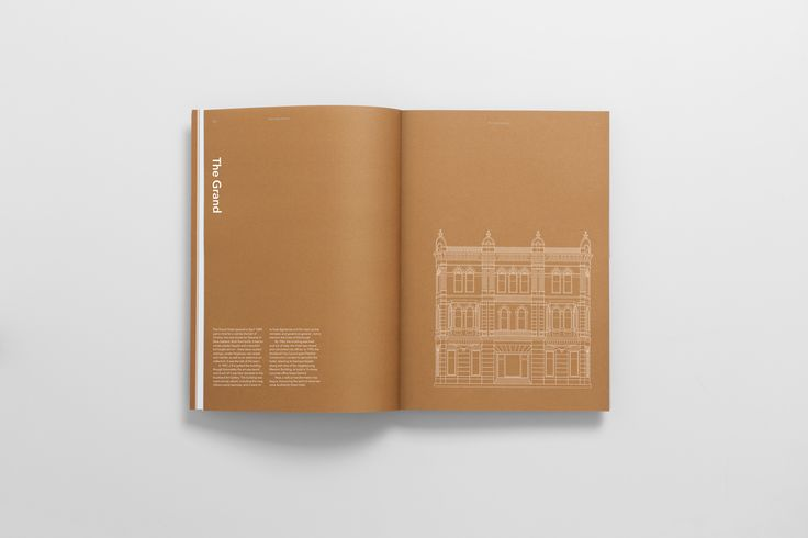 The International by Studio South. #branding #brochure #design