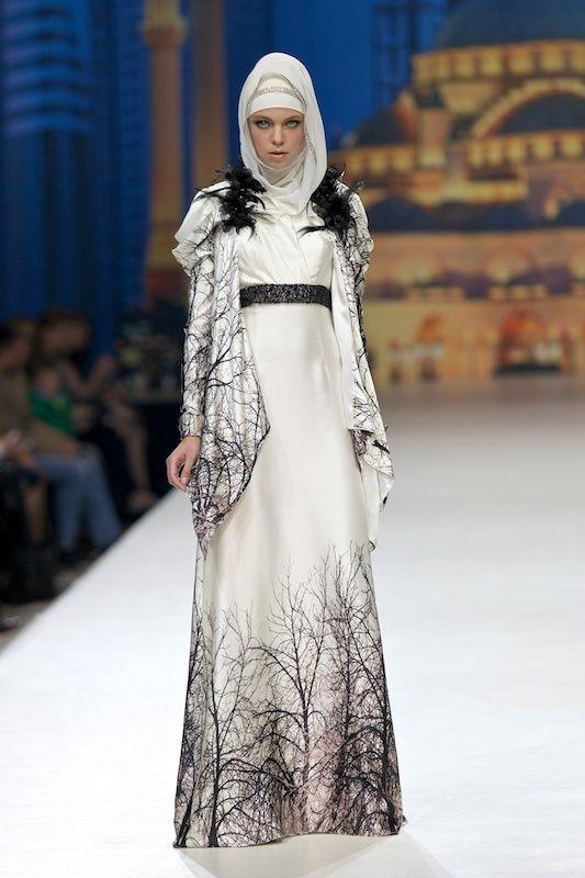 haute couture hijab | Tchétchénie : Haute couture Hijab - Maison Firdaws -