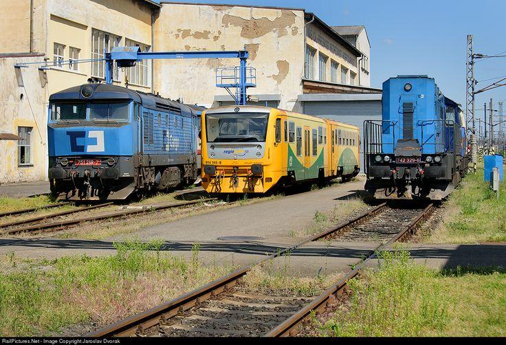 RailPictures.Net Photo: CD 751 219 7 Ceske Drahy CD 751 at Ceske Budejovice, Czech Republic by Jaroslav Dvorak