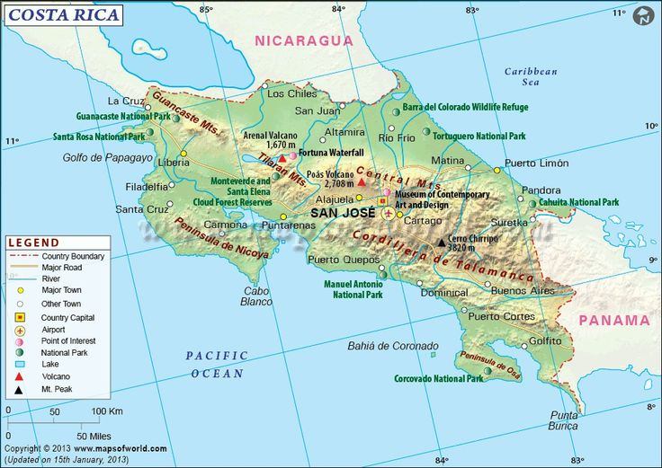 32 best my part of the world costa rica images on pinterest costa rica map explore map of costa rica a central american country having an estimated population of 5 million the capital of costa rica is san jose gumiabroncs Gallery
