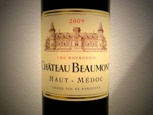 Chateau Beaumon 2009