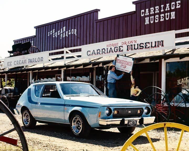1975 AMC Gremlin X Levi's Automobile Photo Poster zu2883-SHOVH1