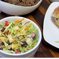 Cranberry Broccoli Slaw #food #yummy #delicious