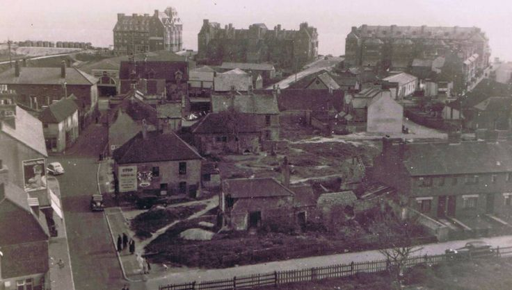 .This area in Seaford used to be called Pinder Square, and is where the now police station stands, not certain if it was bombed or pulled down through old age. ( Picture courtesy of Seaford Museum )